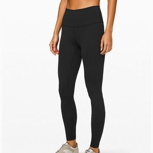 "Lululemon Wunder Under High Rise 28"" Luxtreme"